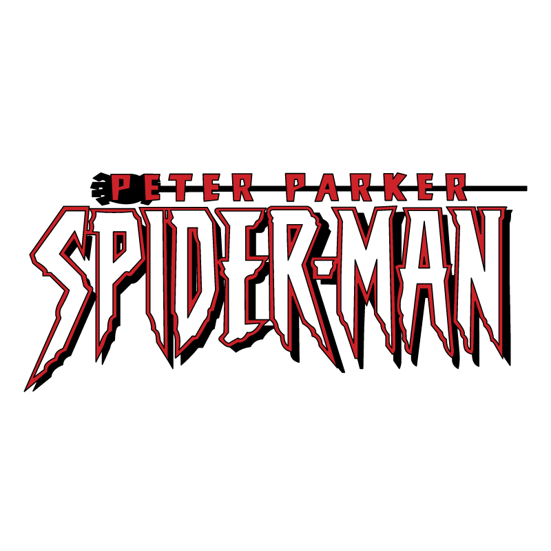 Peter Parker Spider man vector