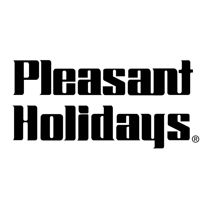 Pleasant Holidays vector logo