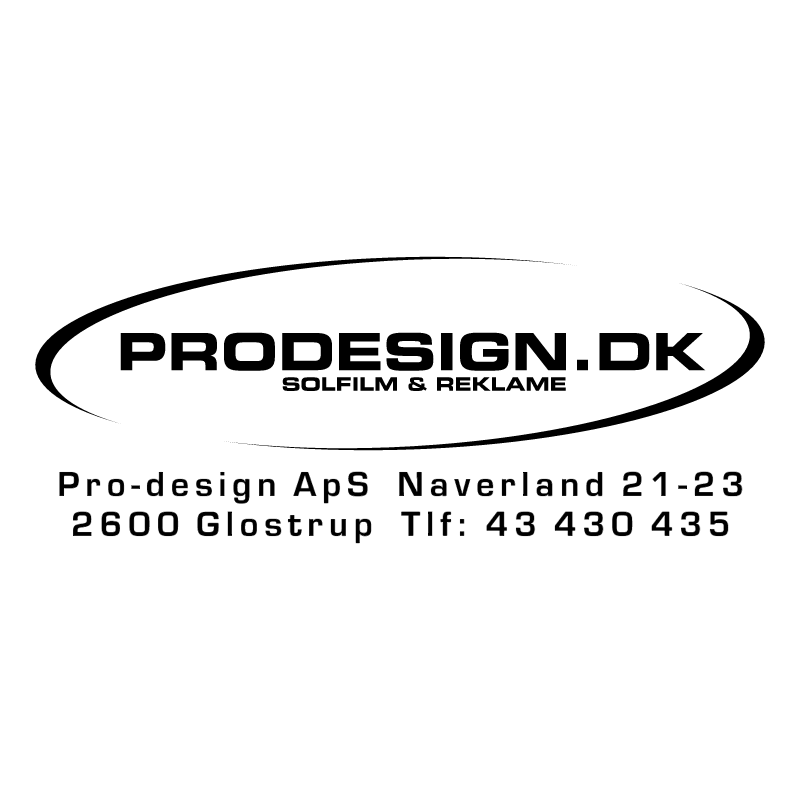 Prodesign ApS vector logo