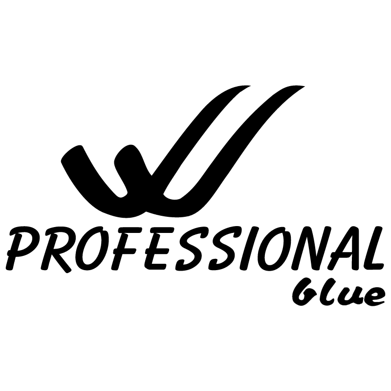 Professional Blue vector logo