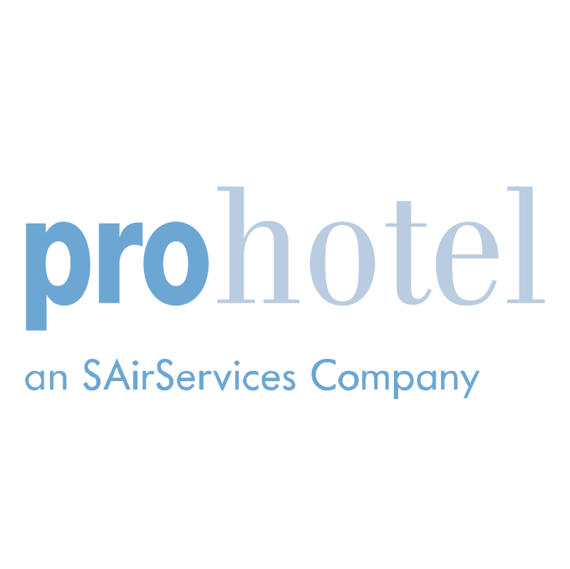 Prohotel vector logo