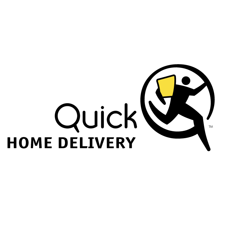 Quick Home Delivery vector