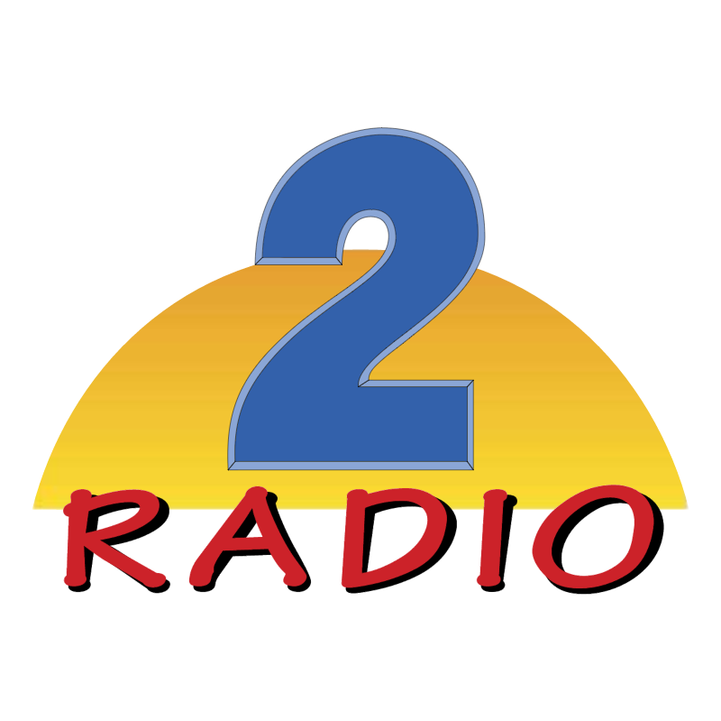 Radio 2 vector logo
