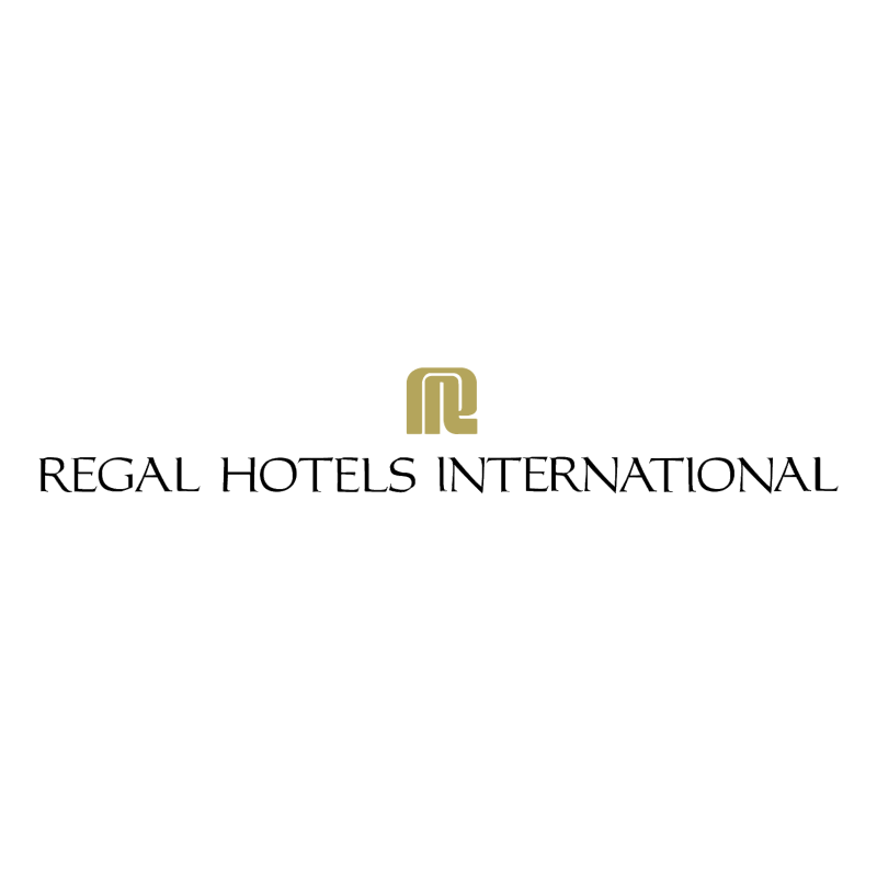 Regal Hotel International vector logo