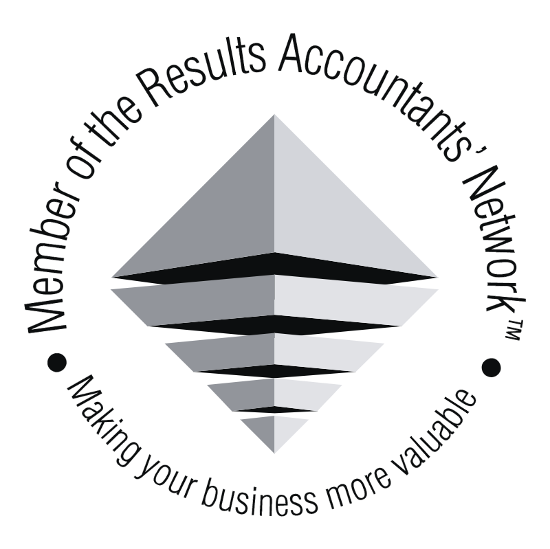 Results Accountants' Network vector