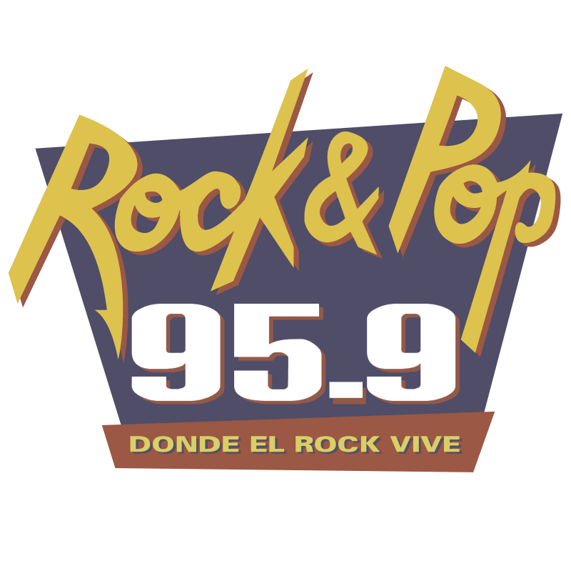 Rock and Pop Radio vector logo