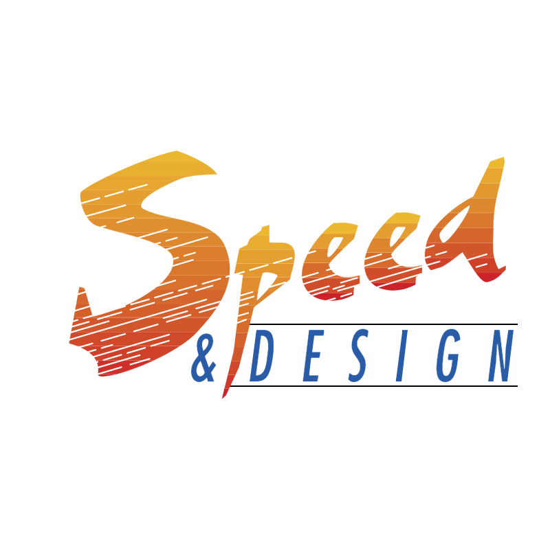 Speed & Design vector