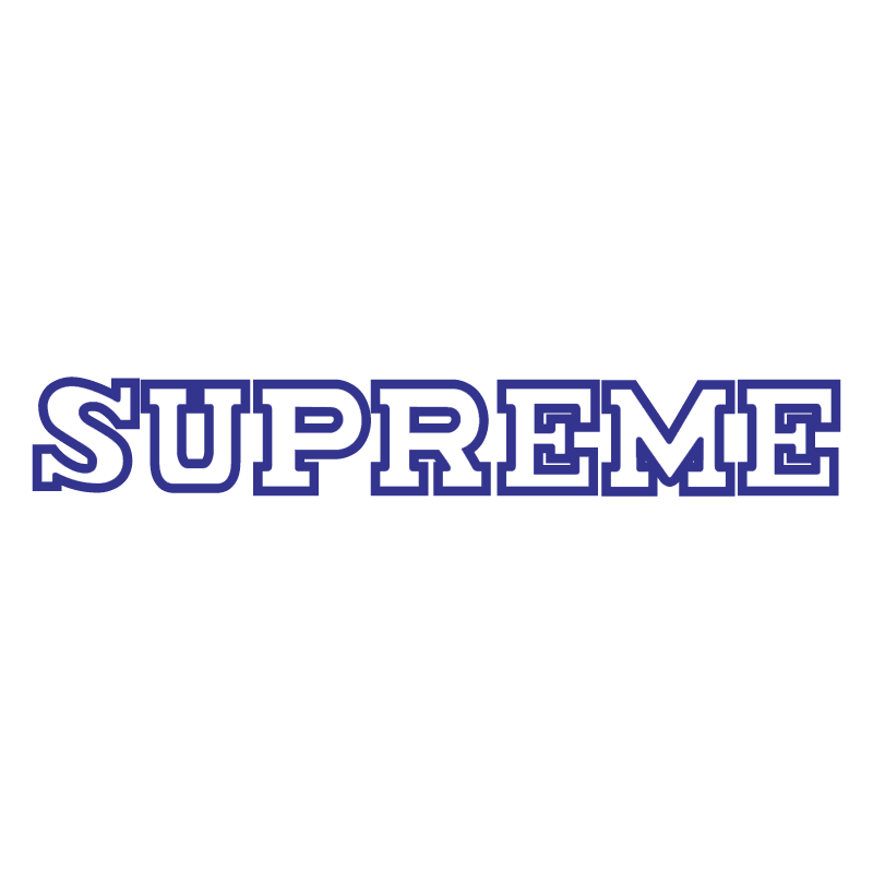 Supreme vector logo