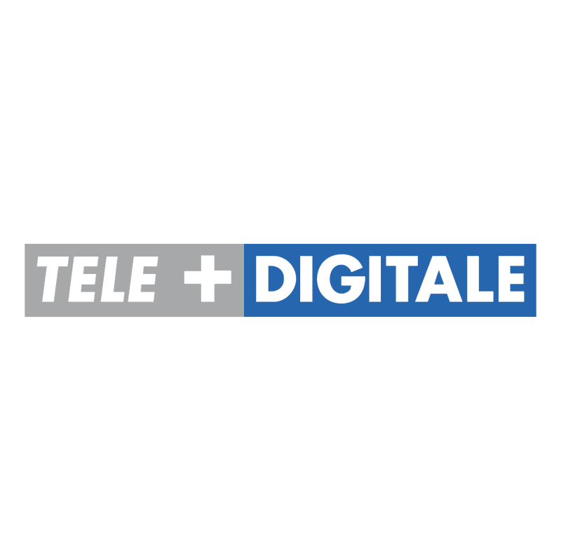 Tele+ Digitale vector