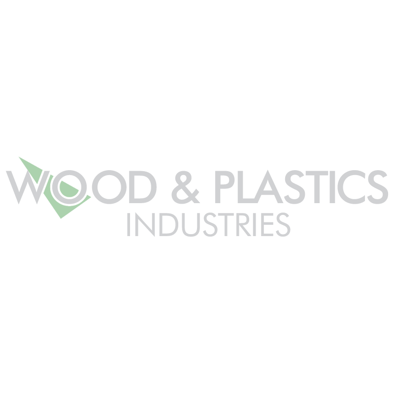 Wood & Plastics vector logo