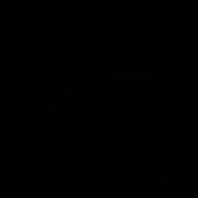cycling vector logo