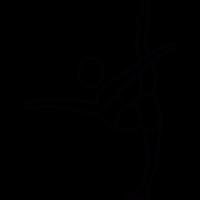 Ballet Posture vector