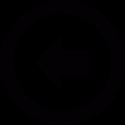 Left arrow vector logo