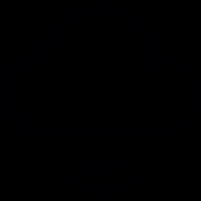 Computing Cloud with Signal vector logo