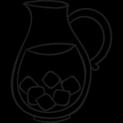 Drink Jar vector logo