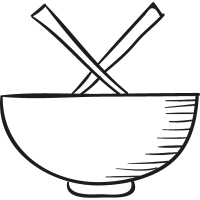 Chinese Bowl vector