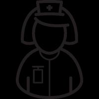 Nurse Bust vector
