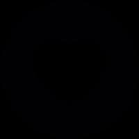 Heart Button vector