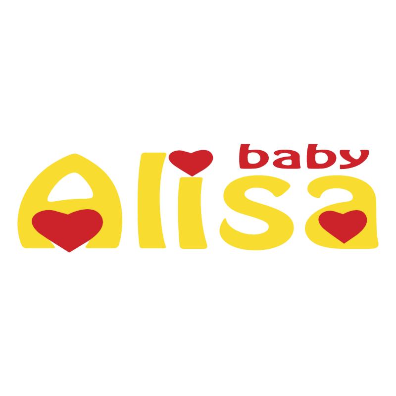 Alisa baby vector