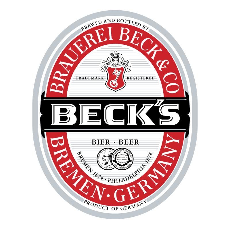 Beck's 30372 vector