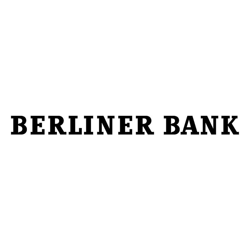Berliner Bank vector