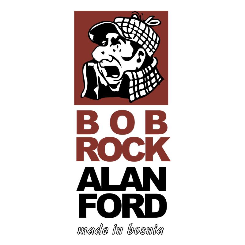 Bob Rock Alan Ford Made in Bosnia vector