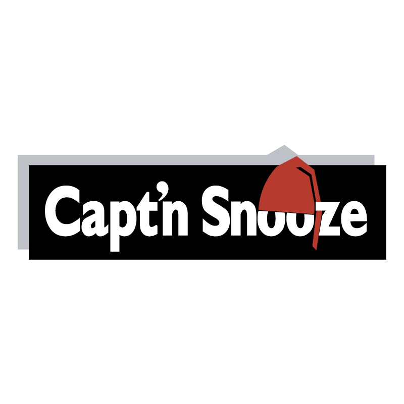 Capt'n Snooze vector logo