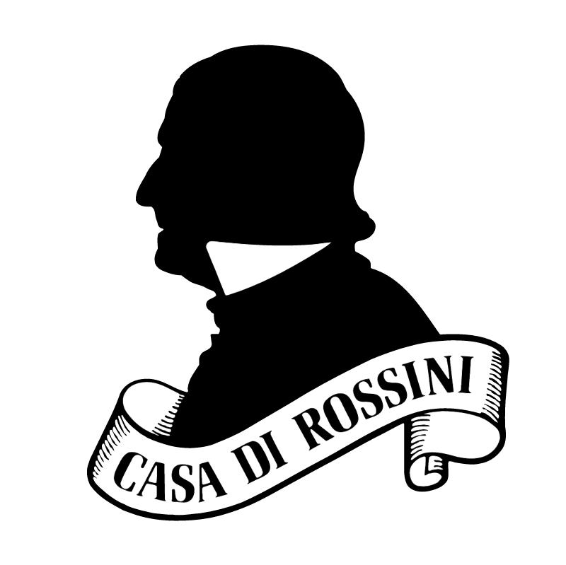 Casa Di Rossini vector