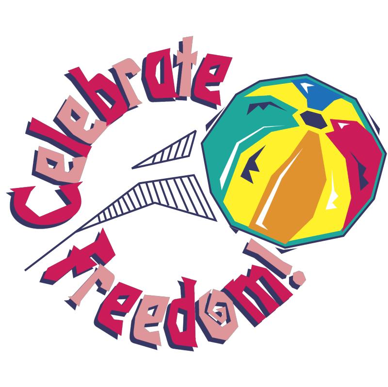 Celebrate Freedom vector