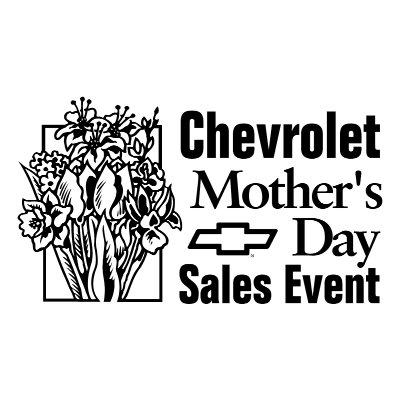 Chevrolet Mother's Day Sales Event vector