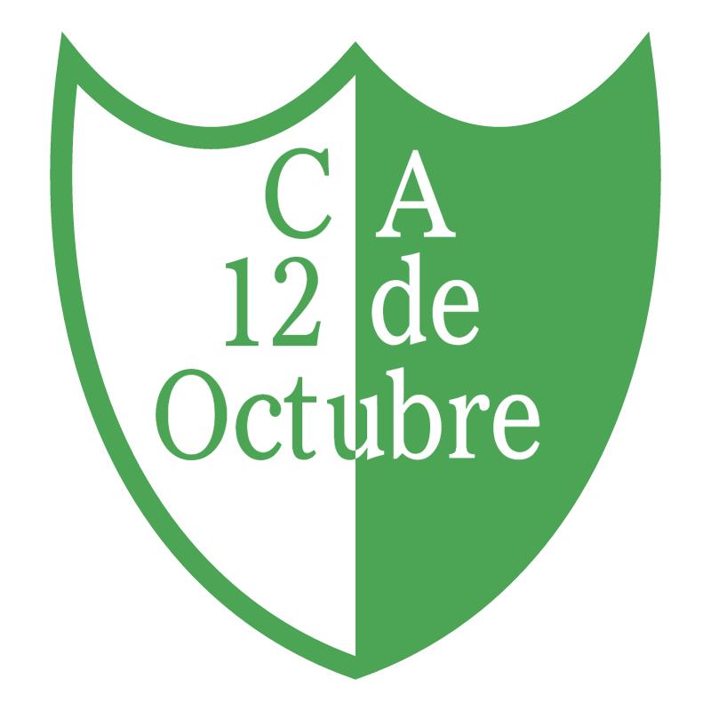 Club Atletico 12 de Octubre de Benavidez vector