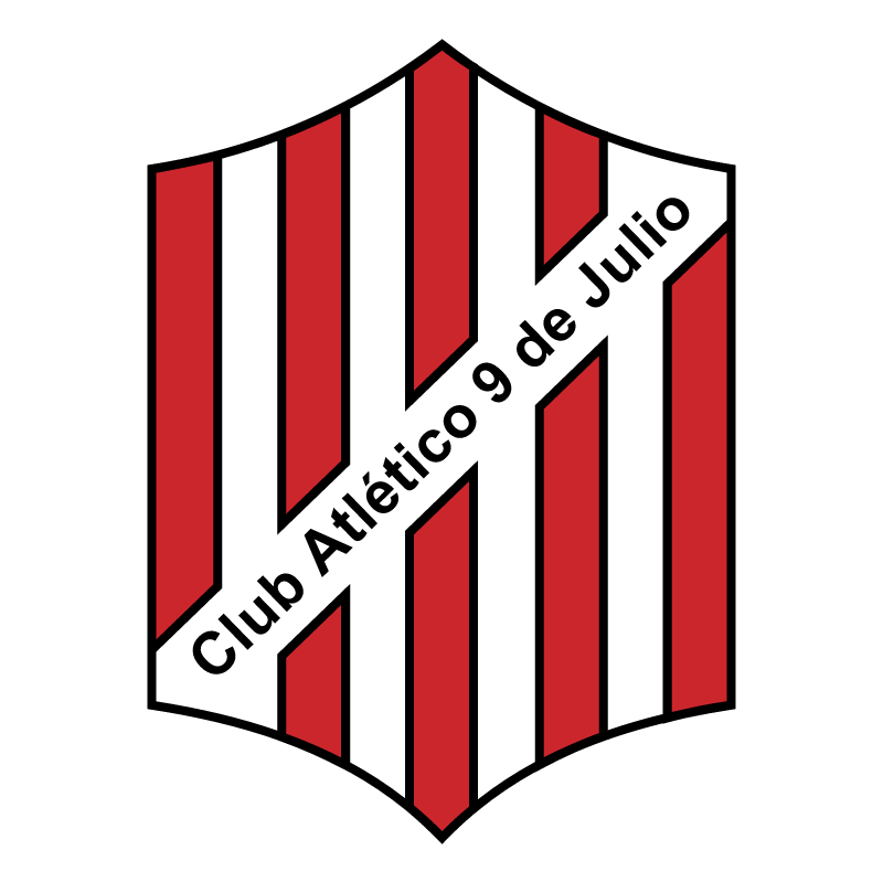Club Atletico 9 de Julio de Rafaela vector