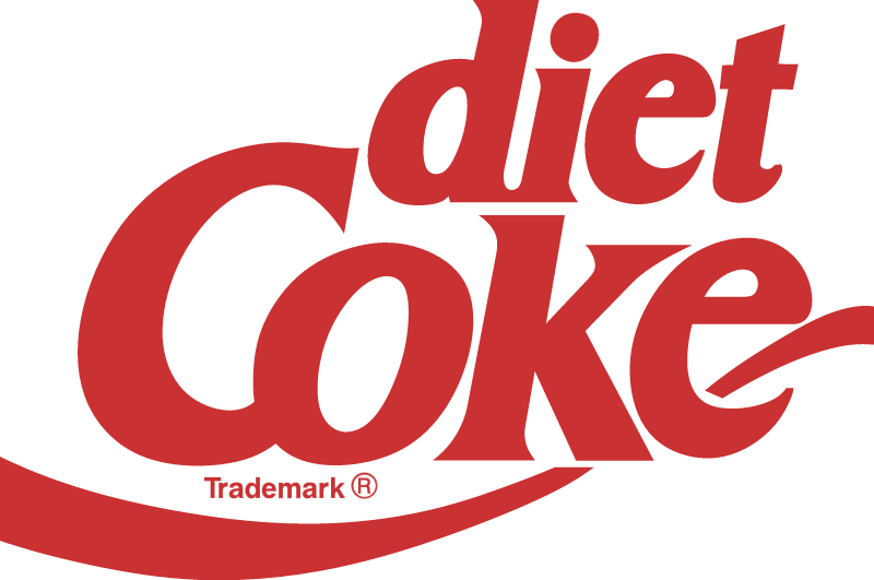 Coke Diet logo vector