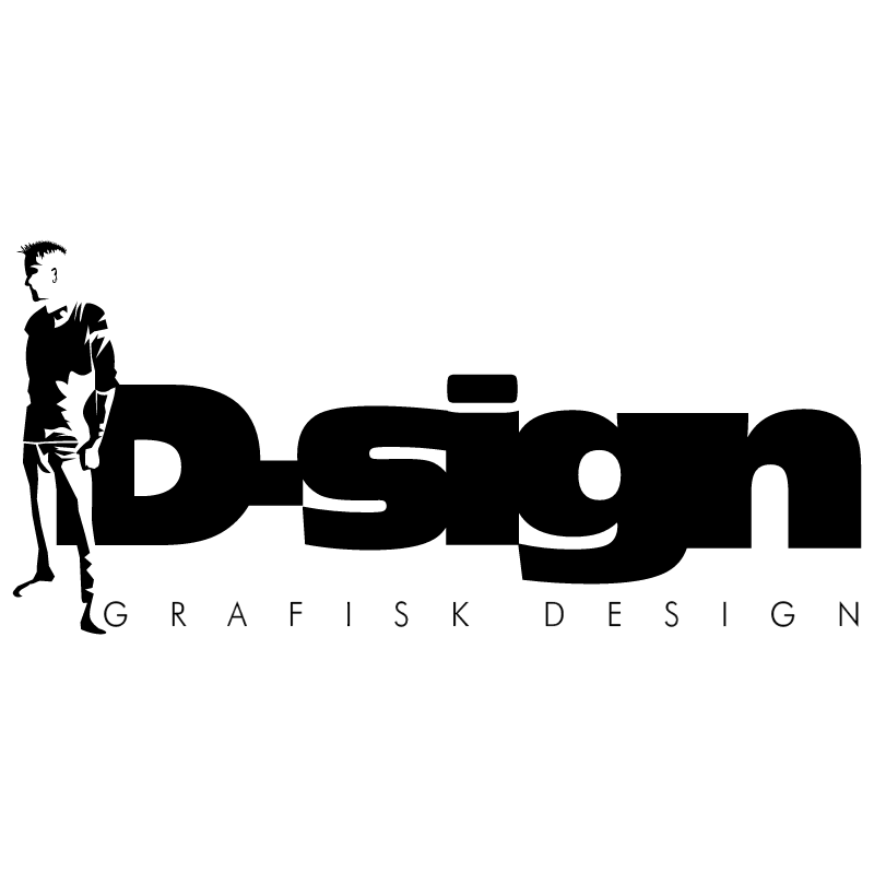 D sign GRAFISK DESIGN vector