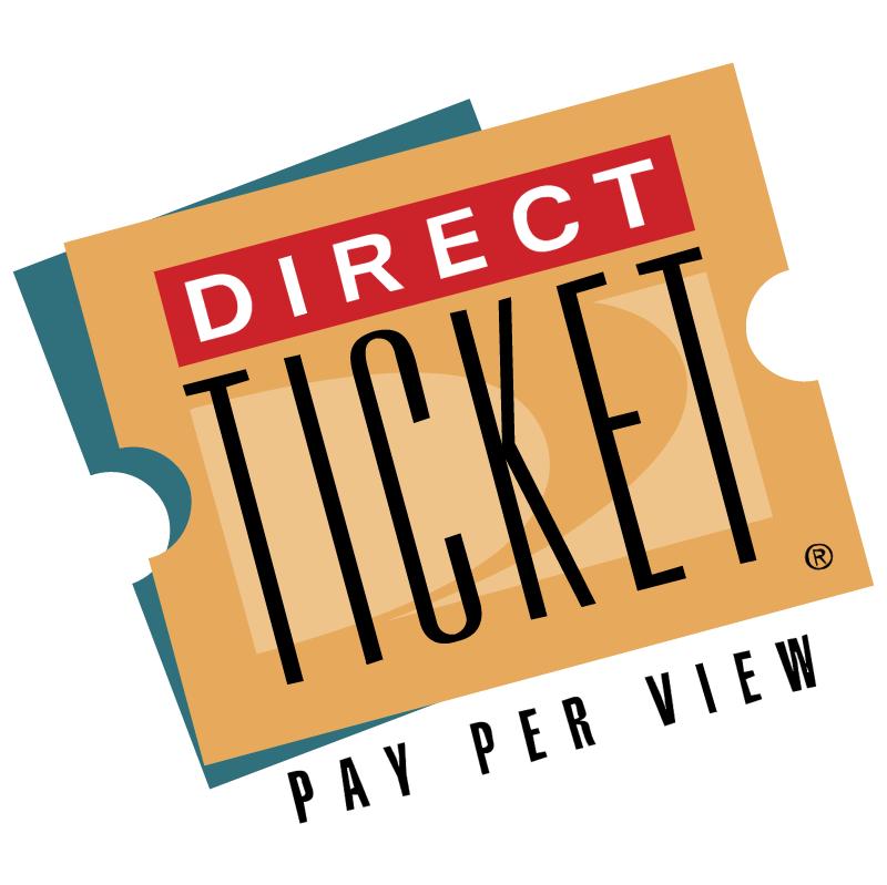 Direct Ticket vector logo