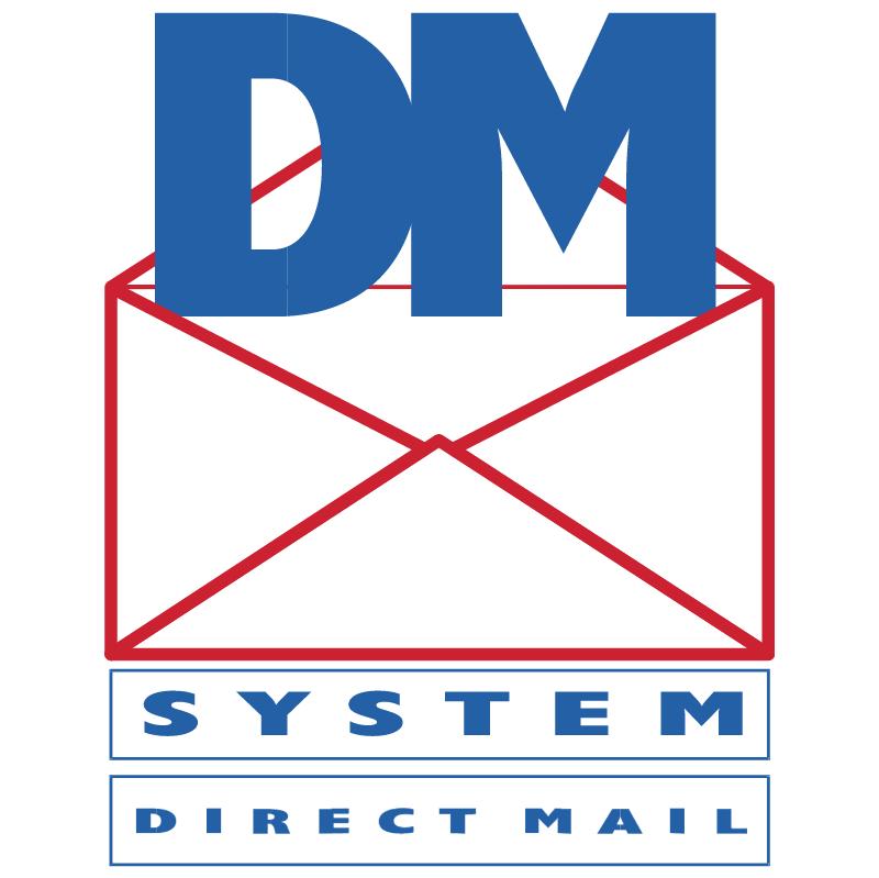 DM System vector logo