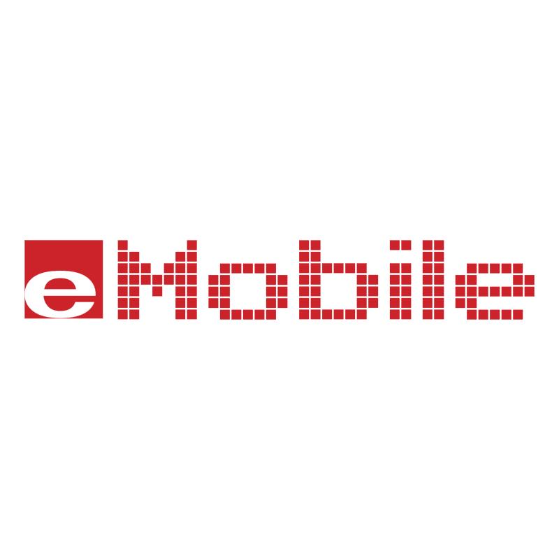 E Mobile vector