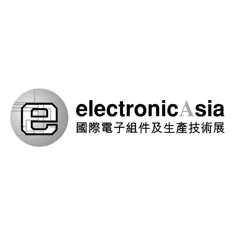 Electronic Asia vector