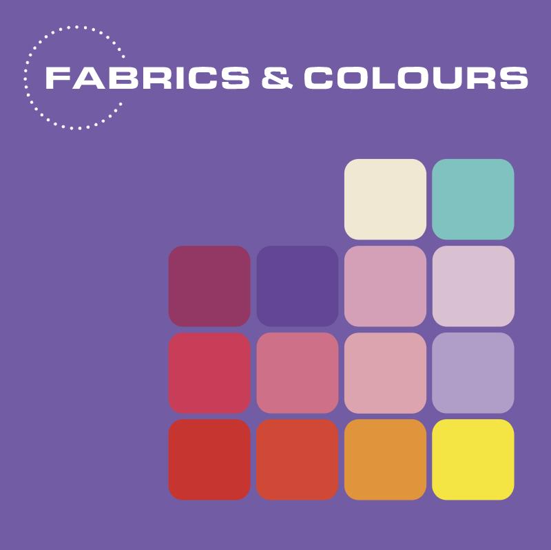 Fabrics & Colours vector
