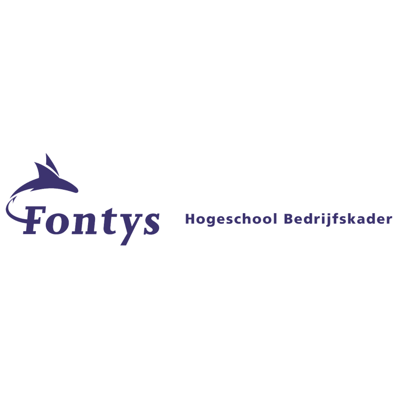 Fontys Hogeschool Bedrijfskader vector logo