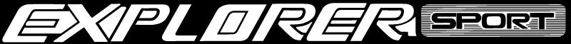 Ford Explorer Sport vector logo