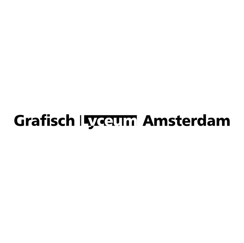Grafisch Lyceum Amsterdam vector logo