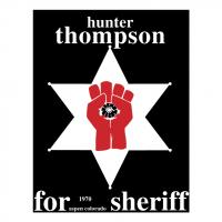 Hunter S Thompson vector