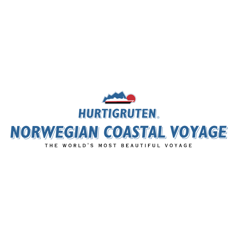 Hurtigruten vector