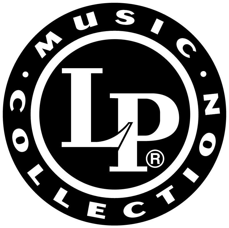 LP Music Collection vector logo