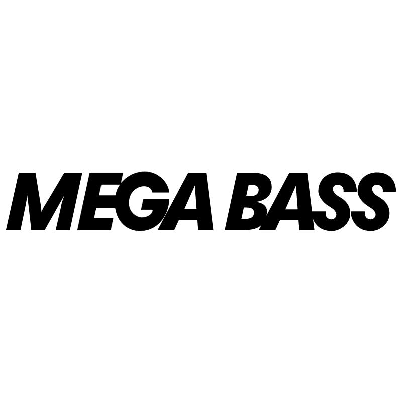 Mega Bass vector logo