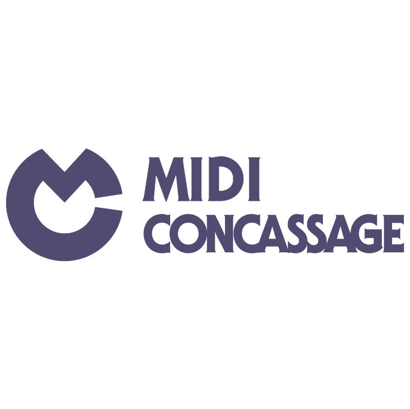 Midi Concassage vector