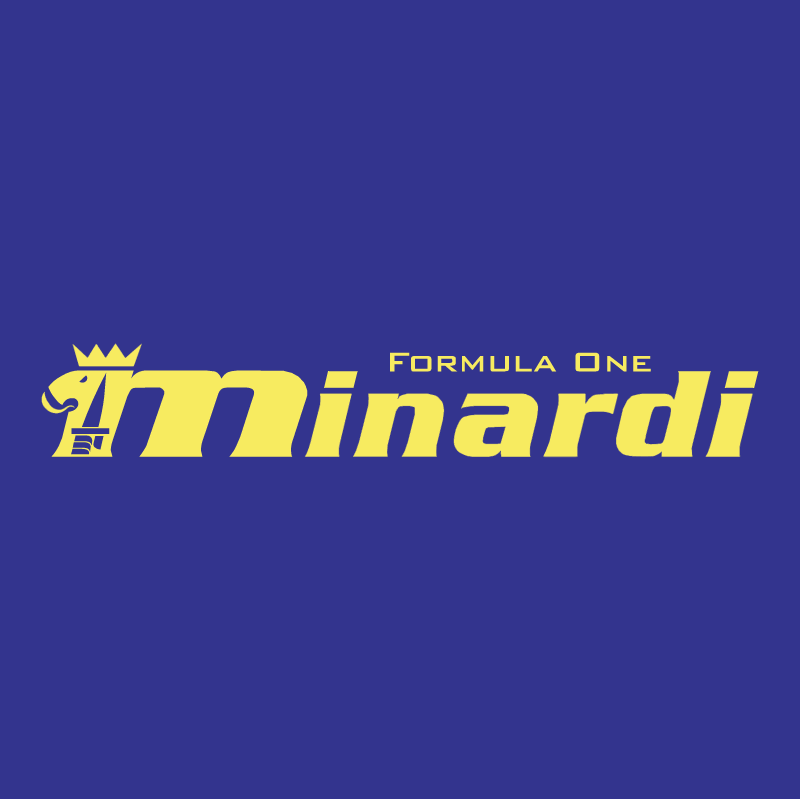 Minardi F1 vector