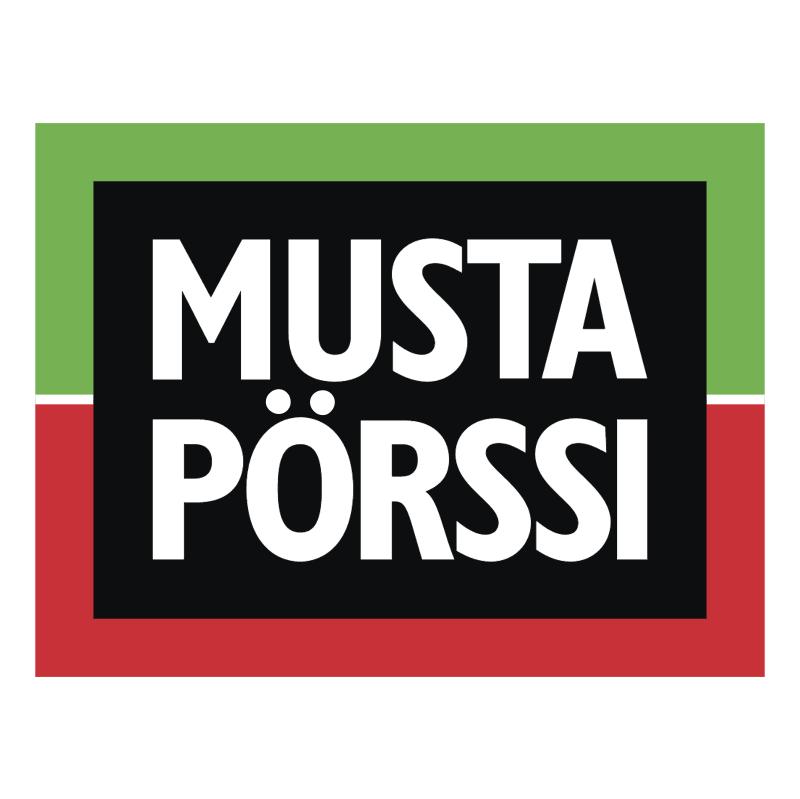 Musta Porssi vector logo
