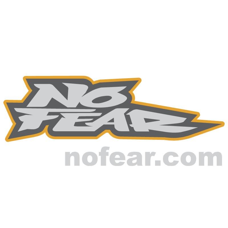 No Fear vector
